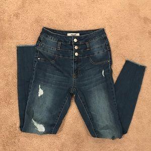 Refuge | Distressed Skinny Jeans, 2